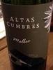 Altas Cumbres 2012 - Product