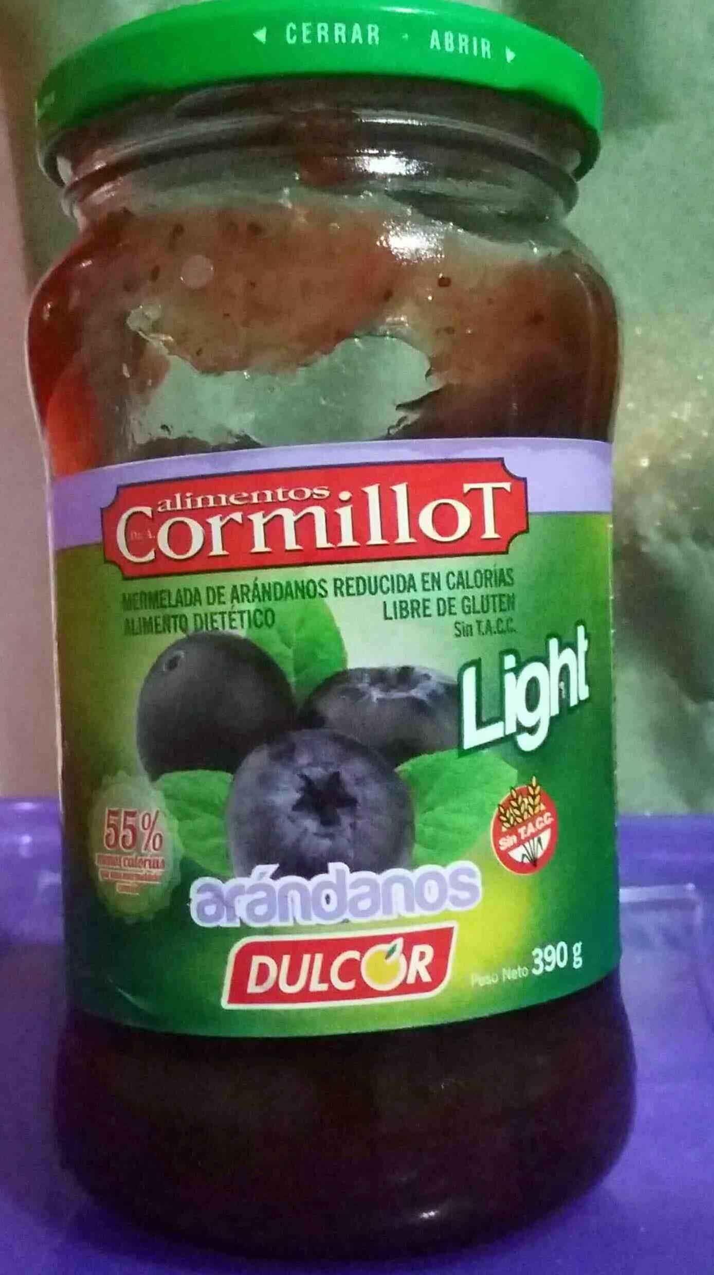 Mermelada light de arándanos - Product - es