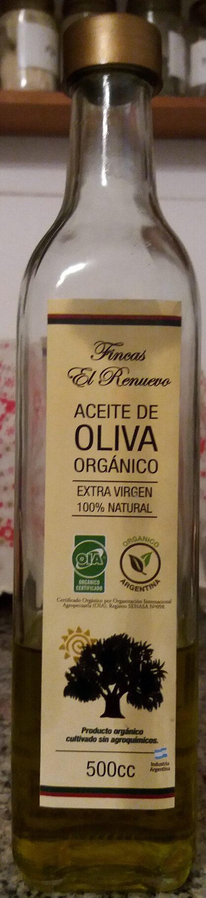 Aceite de oliva orgánico - Produit - es