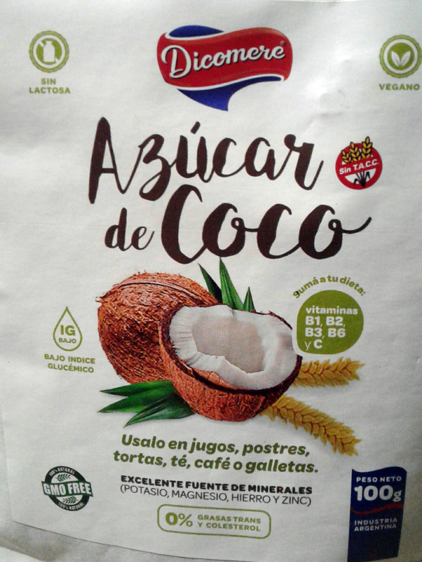 azúcar de coco - Produit - es