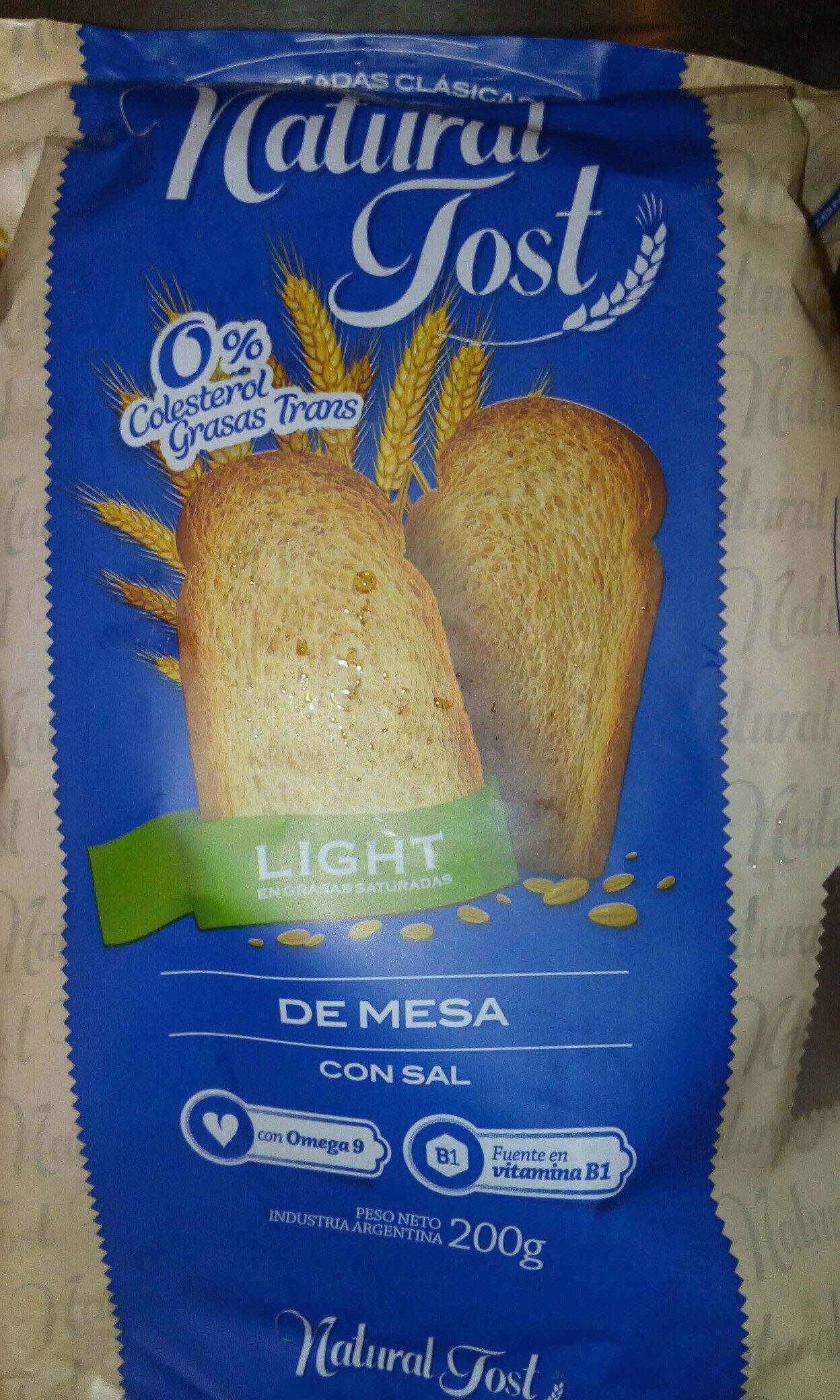 Tostadas Natural Tost Light - Product