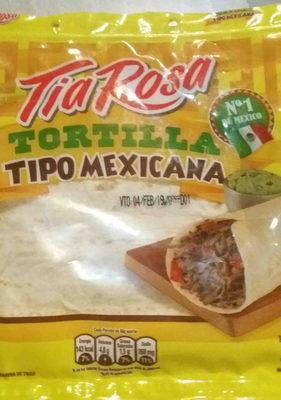 tortilla tipo mexicana - Produit - en