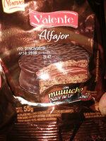 Alfajor relleno de Dulce de Leche con baño de chocolate semiamargo - Product - es