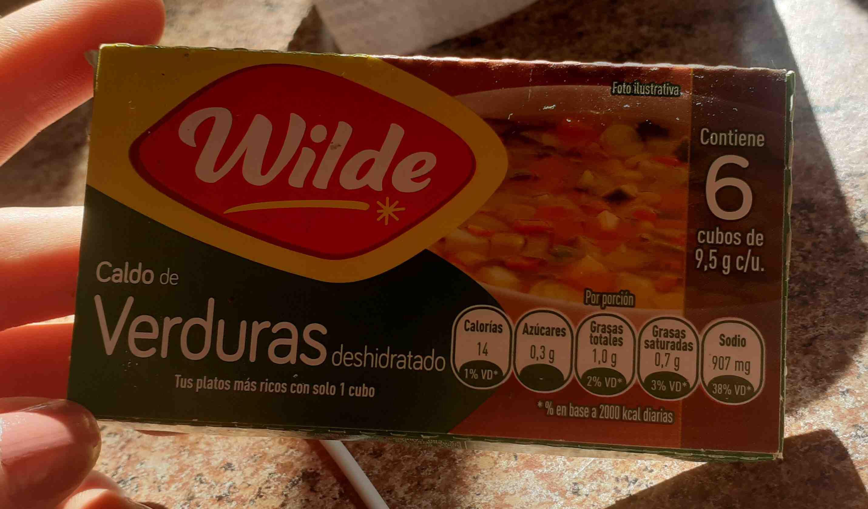 wilde caldo de verduras deshidratado - Producte - es