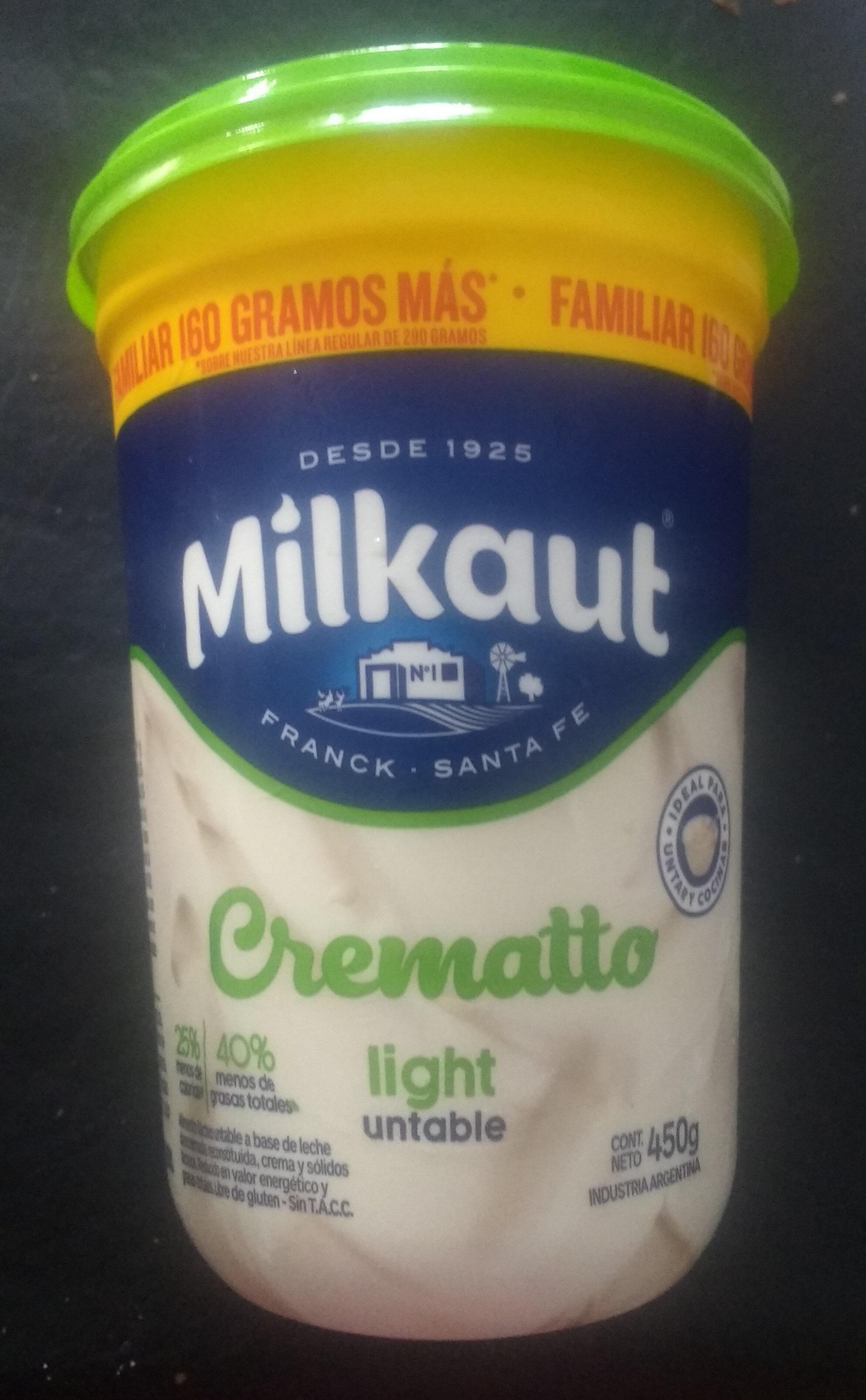 Crematto light untable - Produit - es