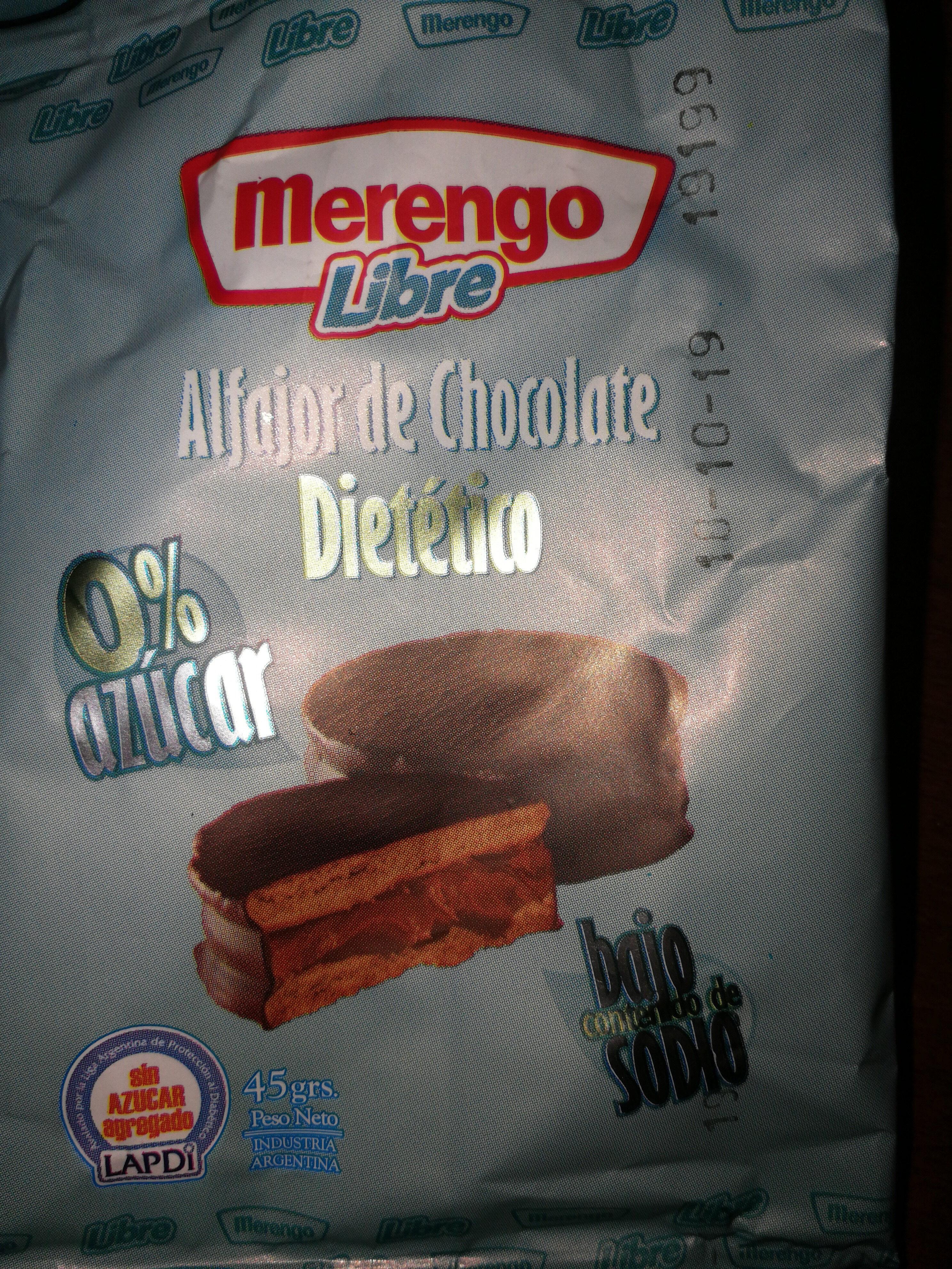 Merengo Libre - Alfajor de Chocolate Dietetico - Product - es
