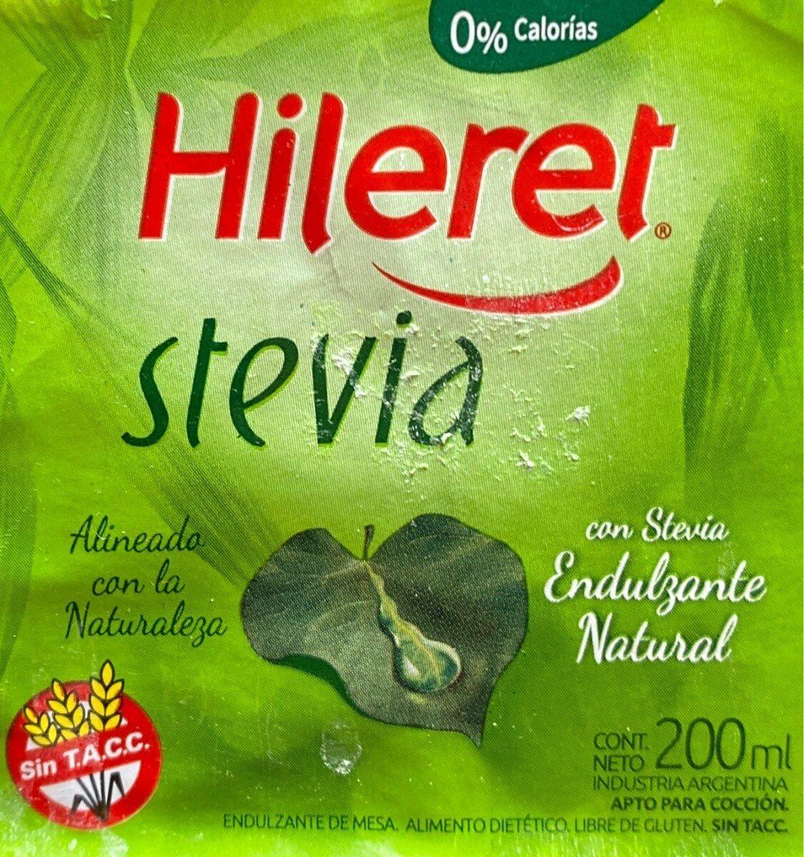 Hileras Stevia - Produit - fr