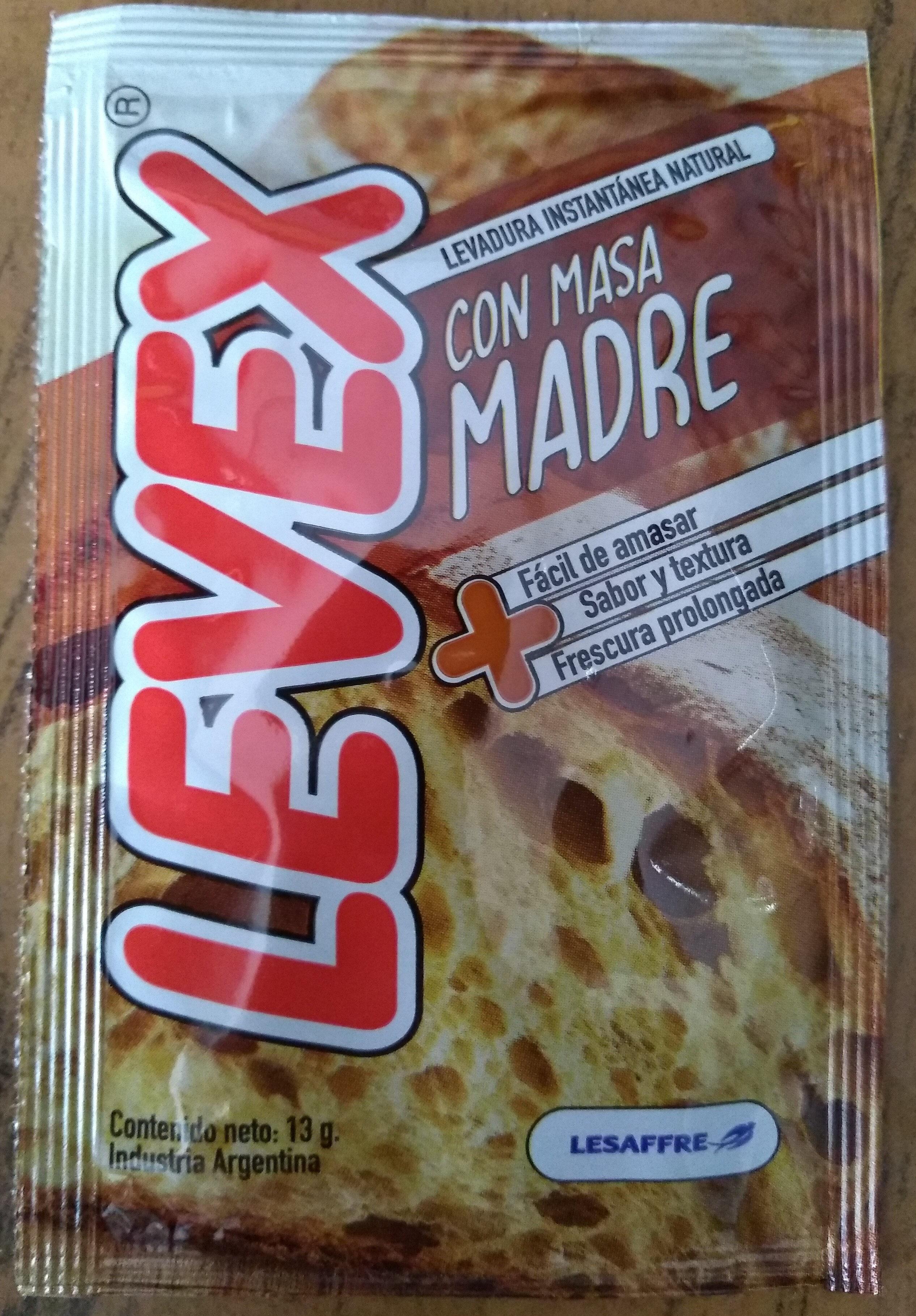 Levex con masa madre - Prodotto - es