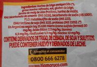 bizcochos tia maruca - Ingredients - en
