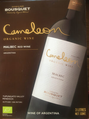Malbec - Cameleon By Domaine Bousquet Tupungato Organic Wine Review