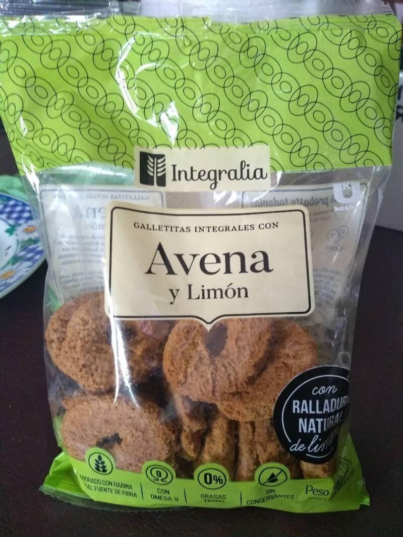 Galletas Integrales con Avena y Limon - Produkt - es