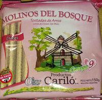 tostadas de arroz molinos del bosque - Product