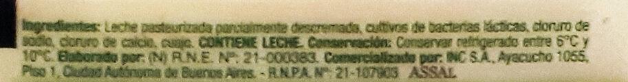Queso Danbo feteado - Ingredienti - es