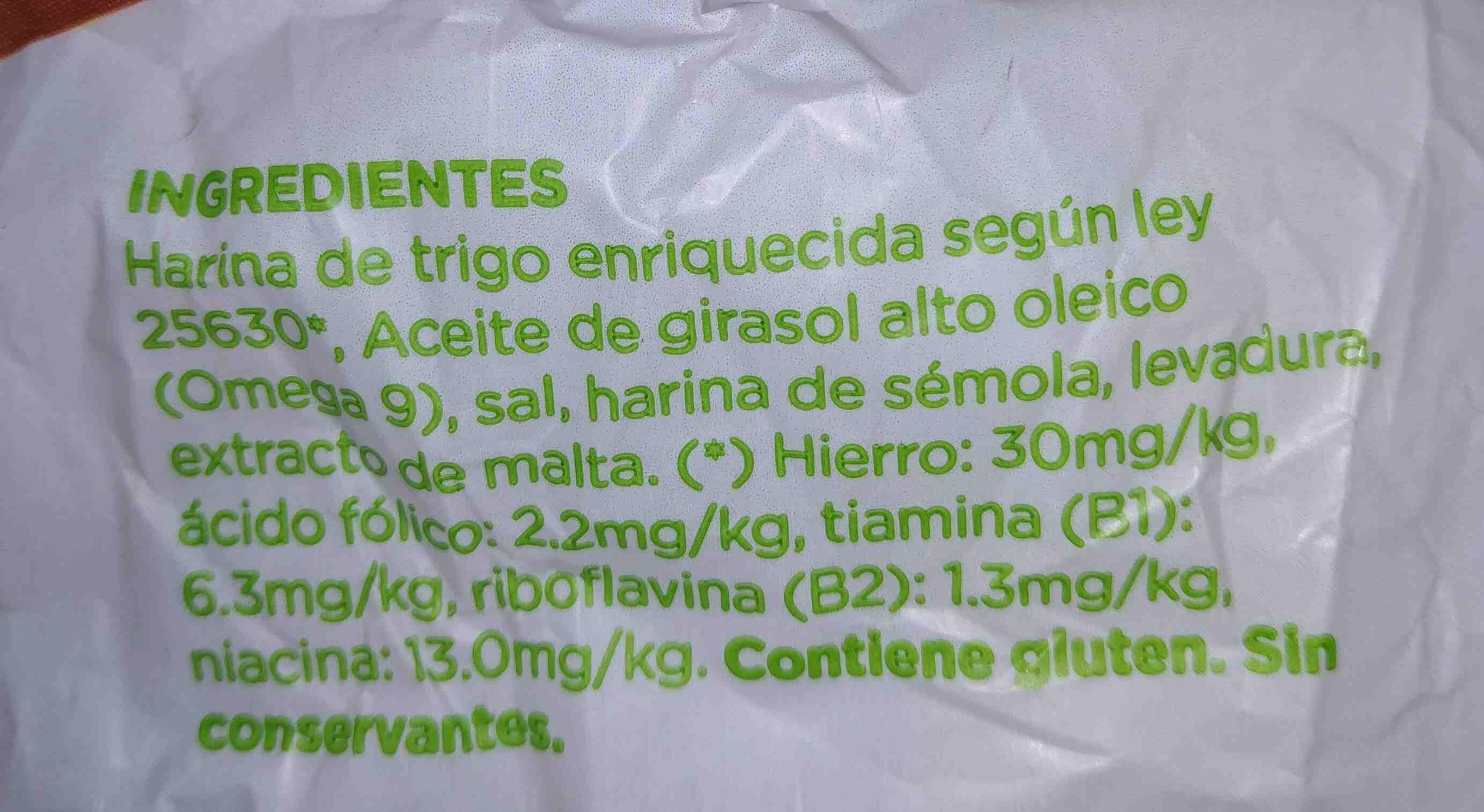 NS - Ingredientes