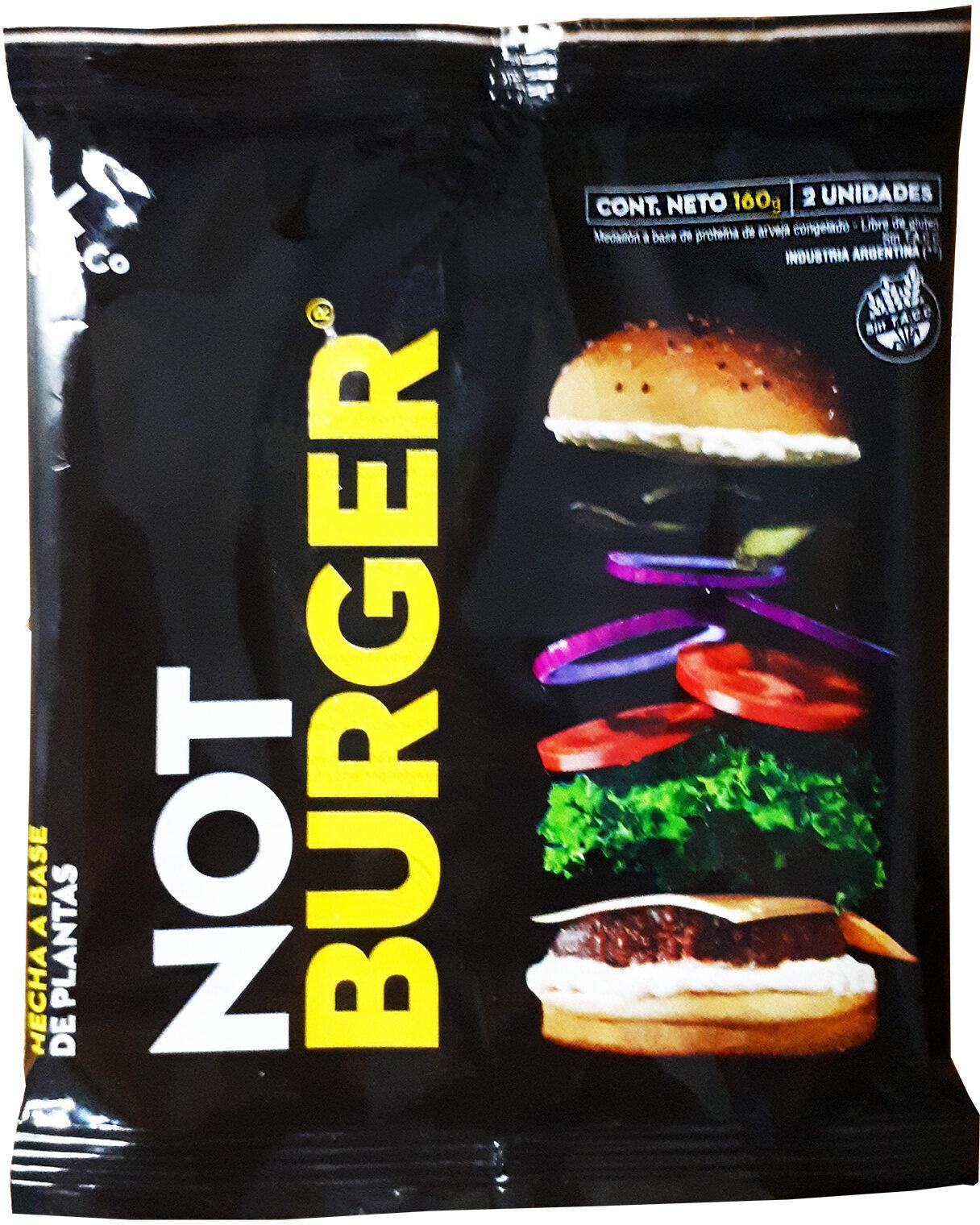 not burger - Produit - es
