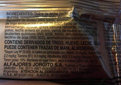 Chocolate - Ingrédients - fr