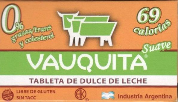 """Tableta de dulce de leche """"Vauquita"""" Suave - Product"""
