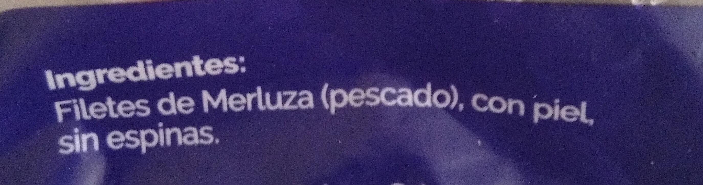 Filetes de merluza - Ingredients - es