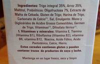 Adelgazul hojuelas integrales - Ingredients - en