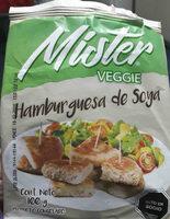 hamburguesa de soya - Producte