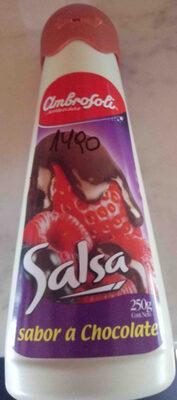 salsa sabor a chocolate - Producte