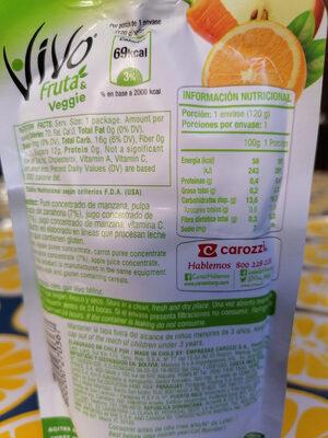 Vivo fruta & veggie - Product - es