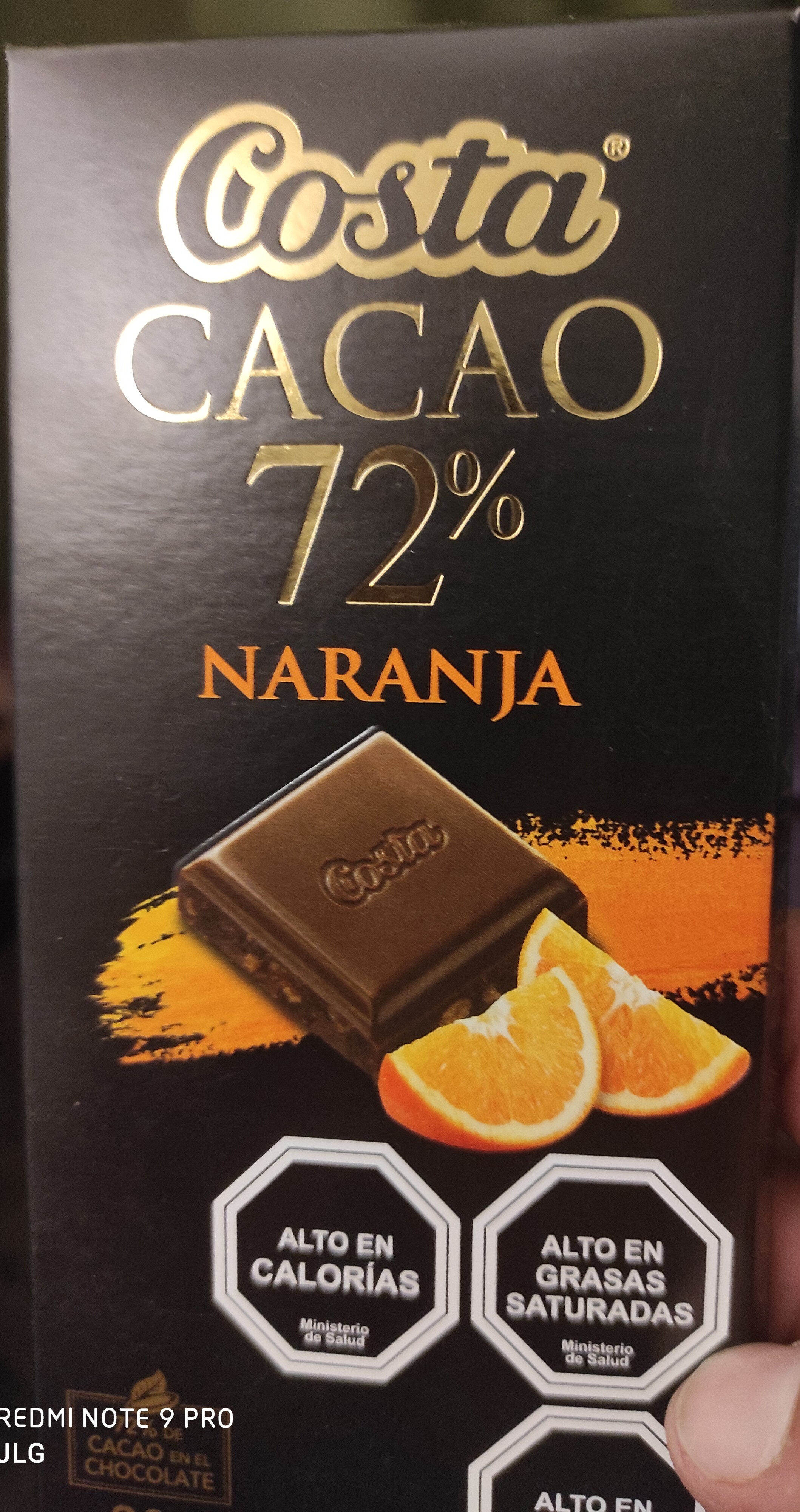 cacao 72% naranja - Product - es