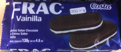 Galleta Frac Vainilla - Produit - en