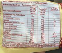 Cereal Mix - Informations nutritionnelles - fr