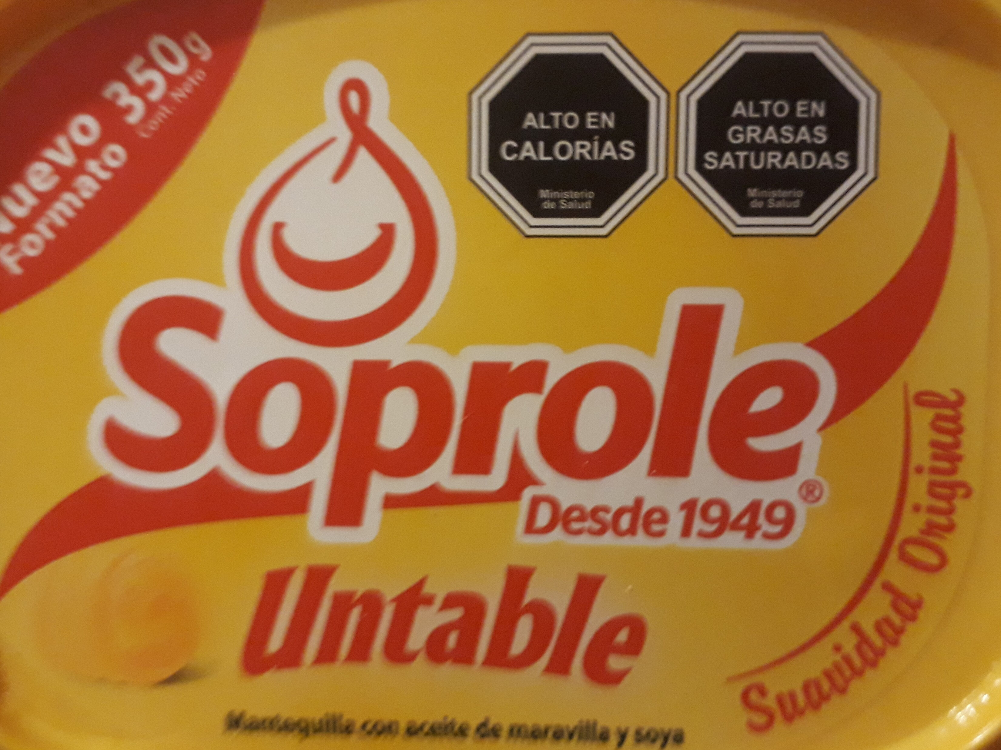 Mantequilla Soprole - Product