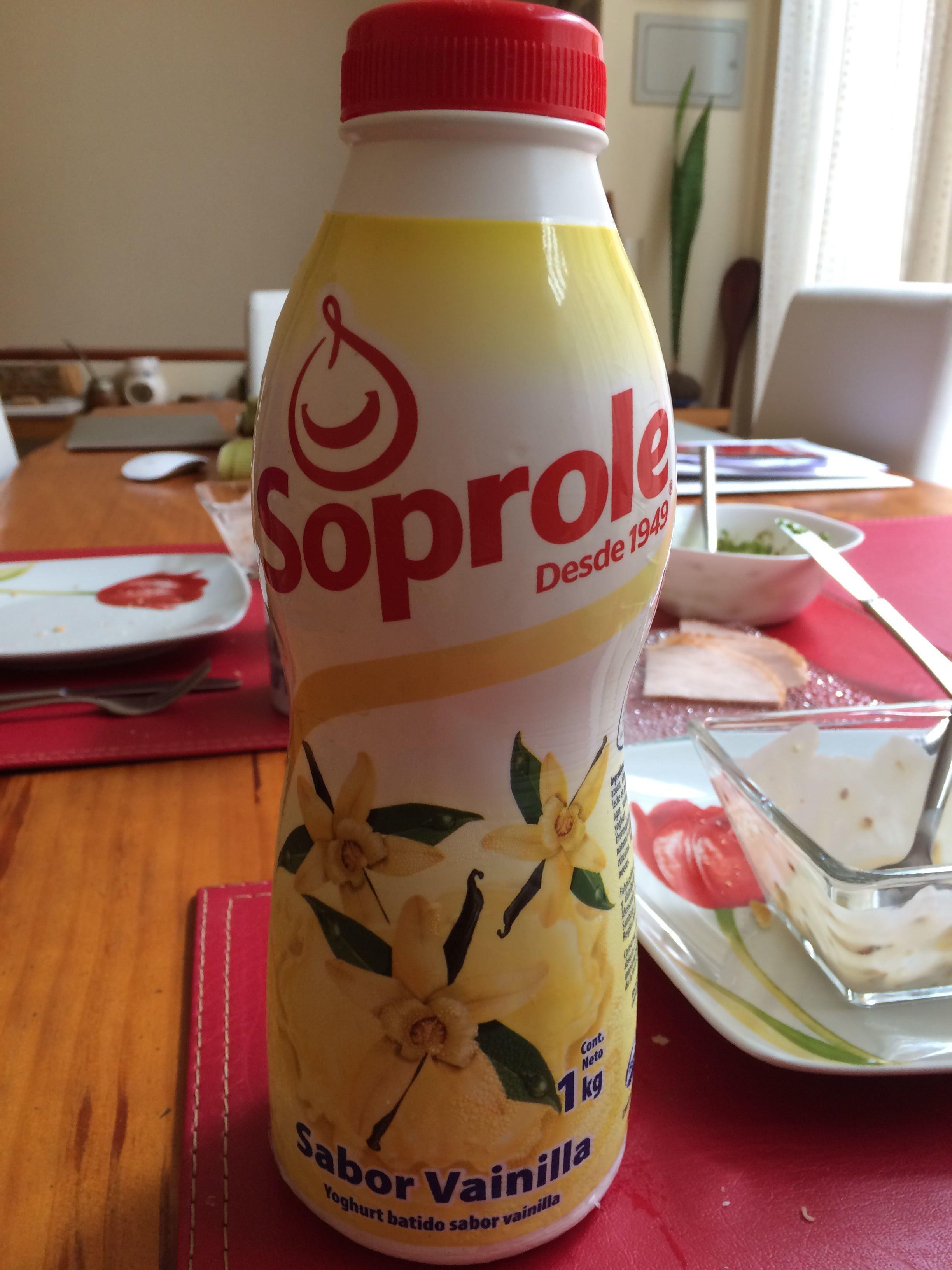 Yogurt Batido 1 LT Vainilla - Product
