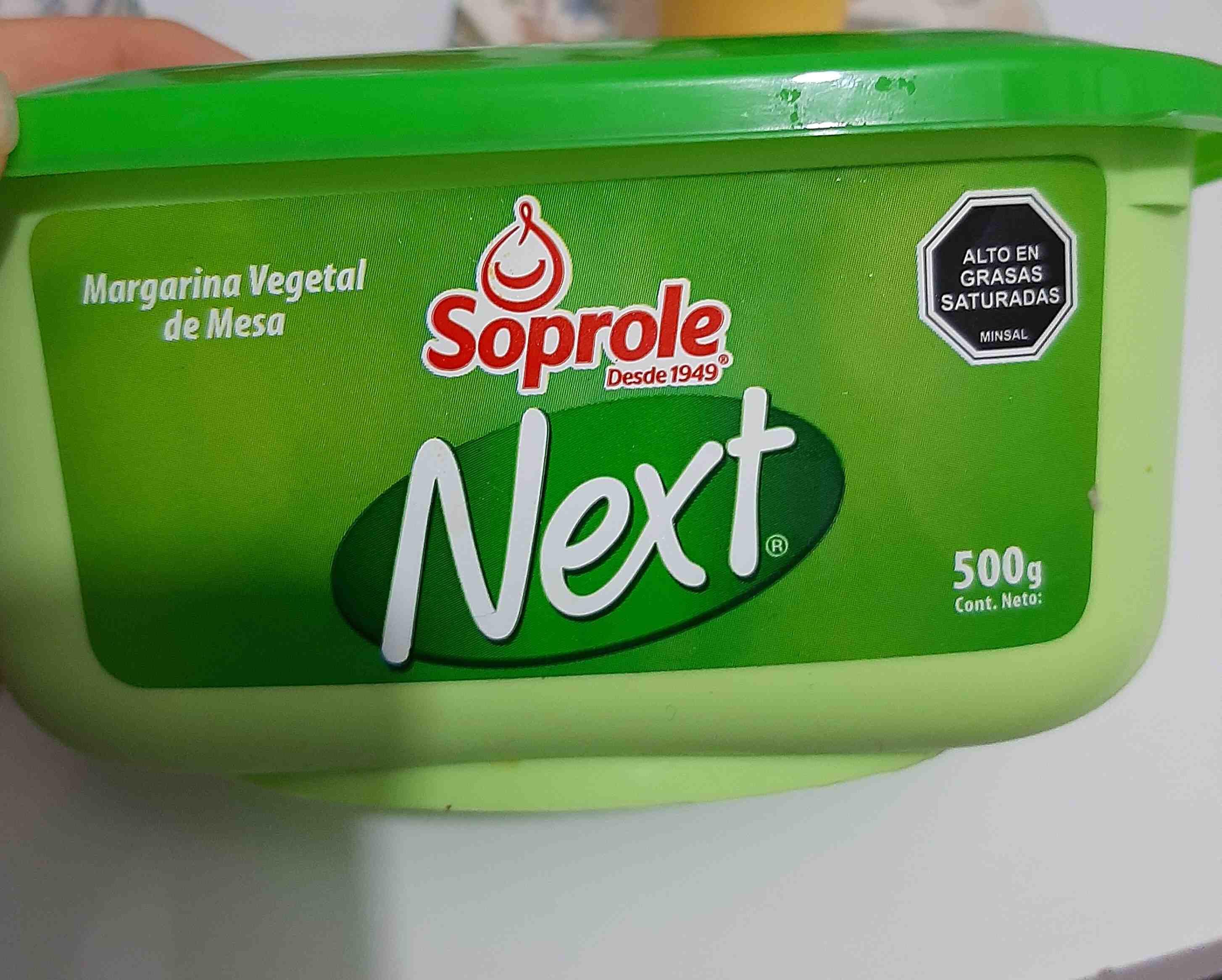 Margarina Soprole Next - Producte - es