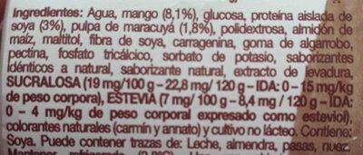 soya mango maraculya - Ingredients