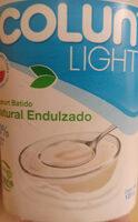 yogurt colun light - Produit - es