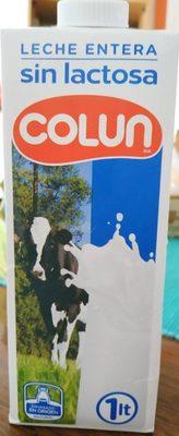 Leche entera sin lactosa - Product - fr