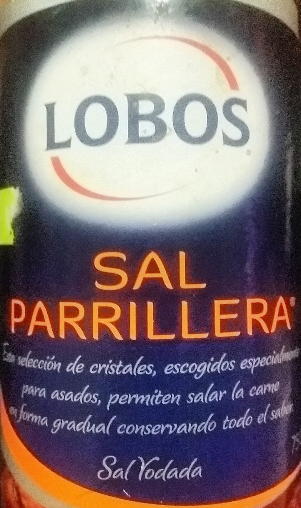 Sal Parrillera - Producto