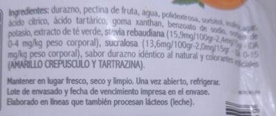 Mermelada de Frutilla En Línea - Ingrediënten - es