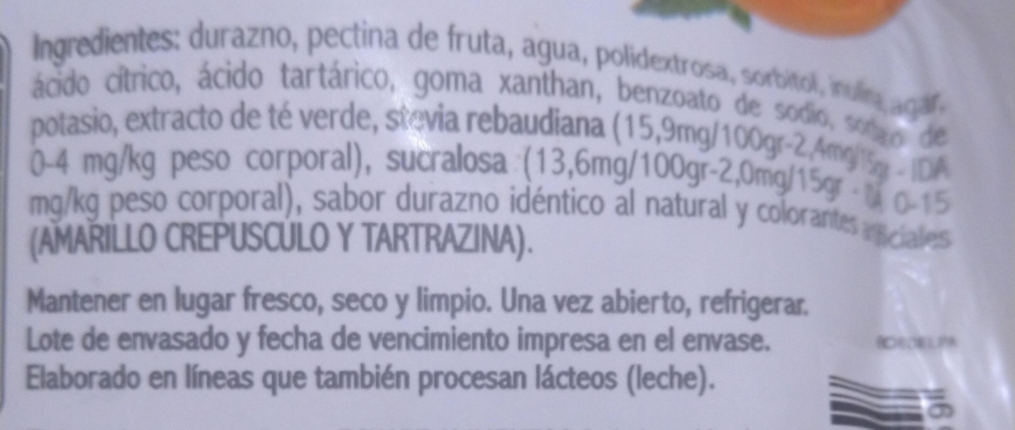 Mermelada de Frutilla En Línea - Ingredients - es