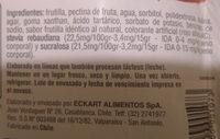 Mermelada de Durazno En Línea - Ingredients - es