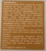 Granola Almendras En Línea - Ingredients - es