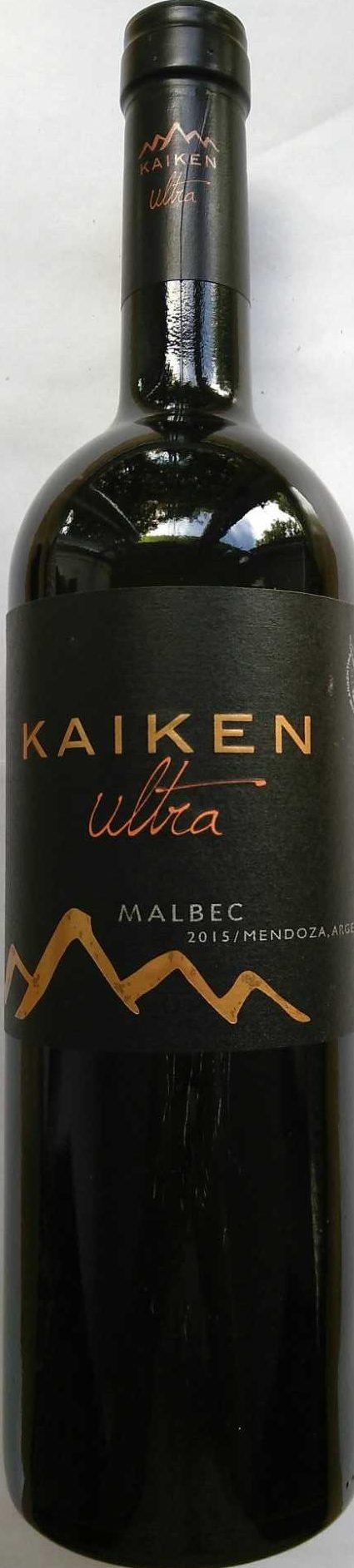 Ultra Malbec - Produkt