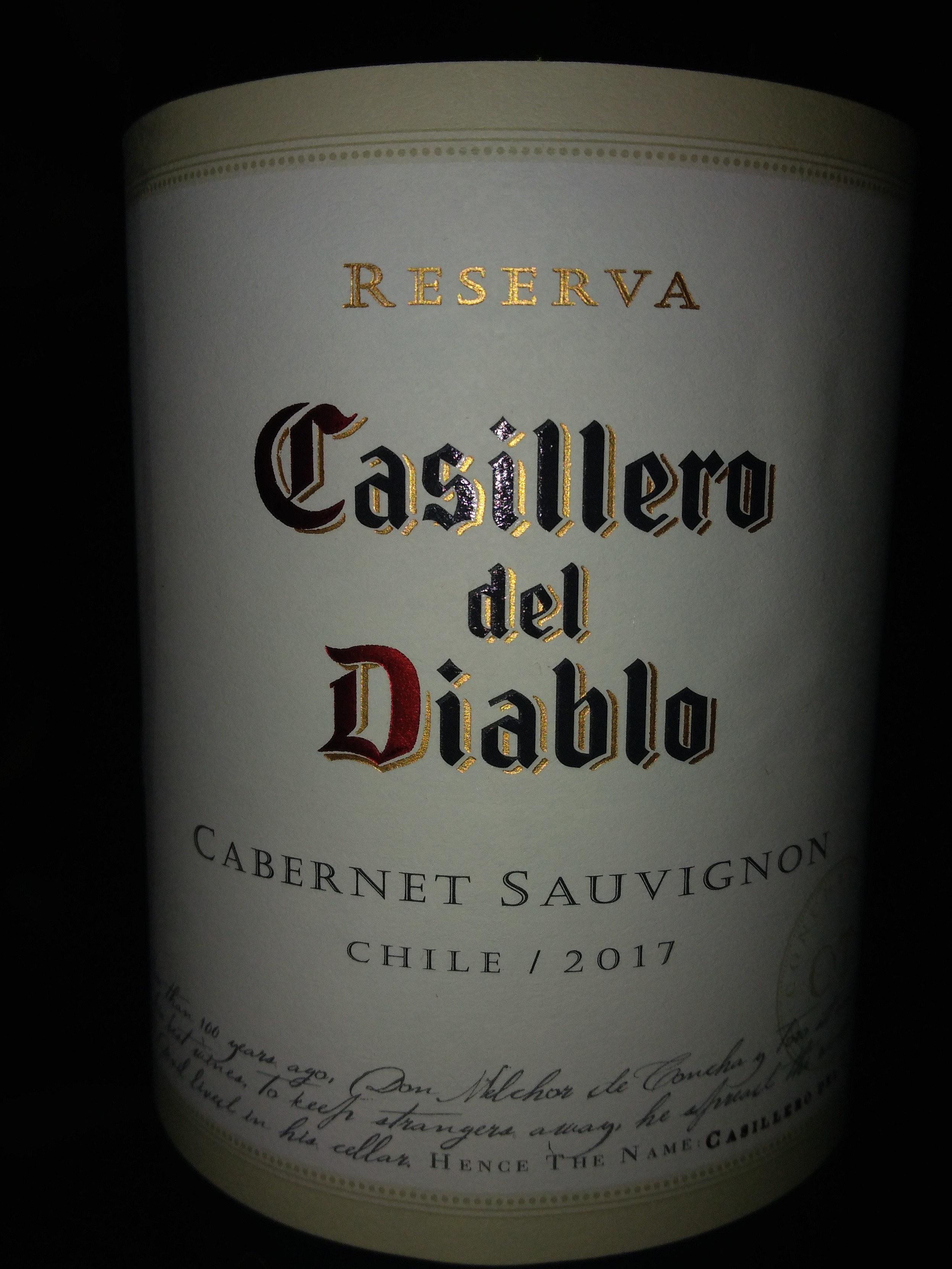 Casillero del Diablo RESERVA CABERNET SAUVIGNON 2014 CHILE - Produit - fr