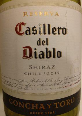 Casillero Diablo Shiraz 0,75L (CL) - Producto - es