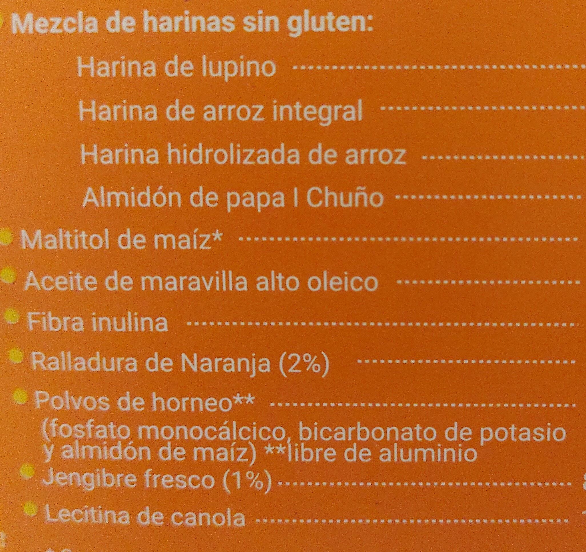 lupino - Ingrediënten - es