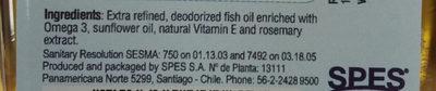 nutra omega 3 - Thành phần - en