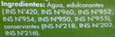 Hecodulc Stevia - Ingredientes - es