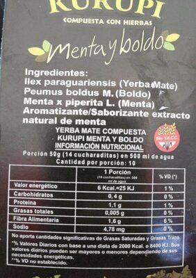 Yerba Mate. Compuesta Especial. Digestiva - Antiacida - Product