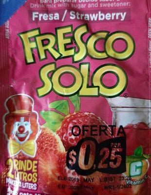 Fresco Solo sabor fresa