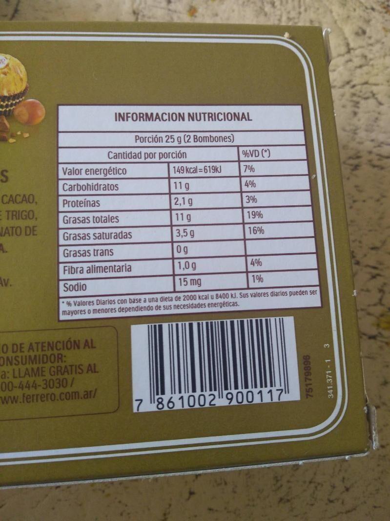 - Informació nutricional - es