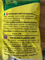 Tortolines Chifles con Sal - Ingrediënten